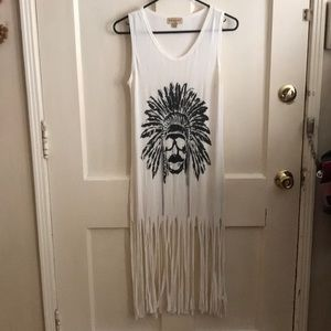 Dresses & Skirts - Fringe Skull Dress